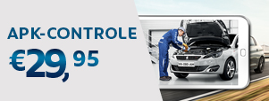 APK van Peugeot RDW erkende controle