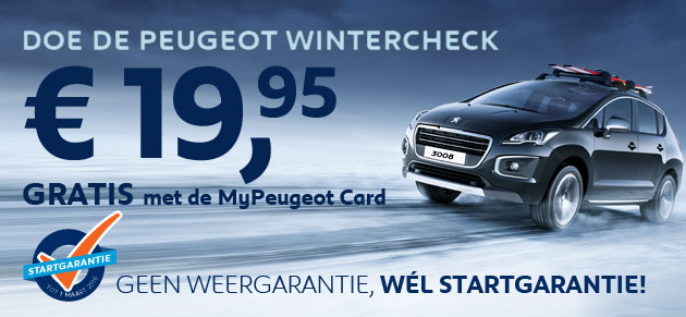 Doe de Peugeot Wintercheck
