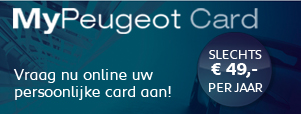 MyPeugeot Card